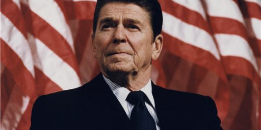 In Today's GOP, Reagan Is A RINO