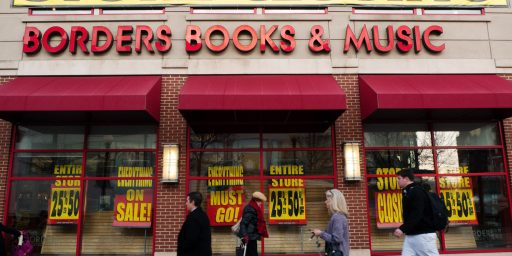 Capitalism, Creative Destruction, And The End Of Borders Books
