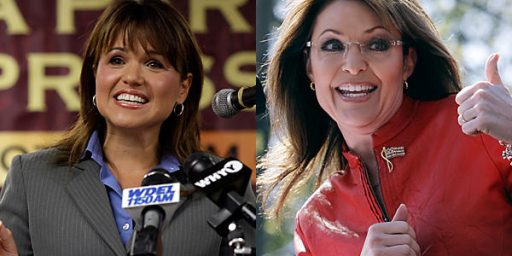 "Christine O'Donnell Re-Invited To Iowa Tea Party Rally, But Now Sarah Palin Is ""On Hold""?"