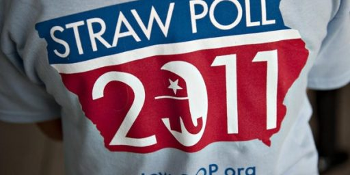 The End Of The Ames Straw Poll? Don't Count On It