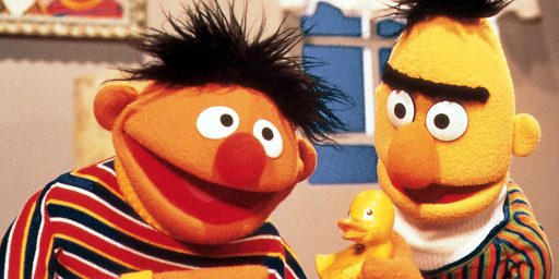 Sesame Street Producers: Bert And Ernie Won't Be Getting Married, And They're Not Gay