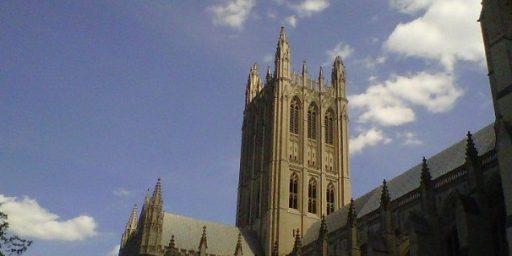 Washington Monument, National Cathedral Damaged By East Coast Earthquake