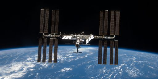 International Space Station May Have To Be Temporarily Abandoned