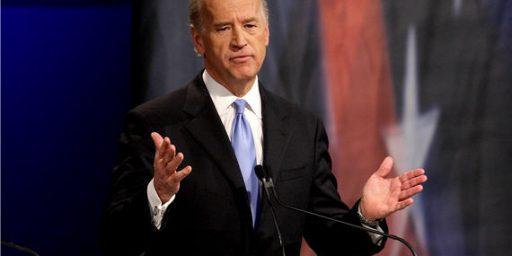 "Joe Biden Welcomes Gabrielle Giffords To The ""Cracked Head Club"""