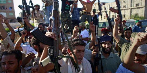 Libya Fight Reaches Tripoli