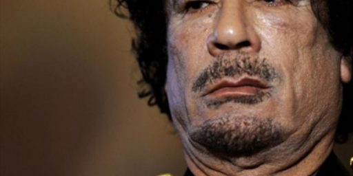 Report: Gaddafi Spotted In Zimbabwe?
