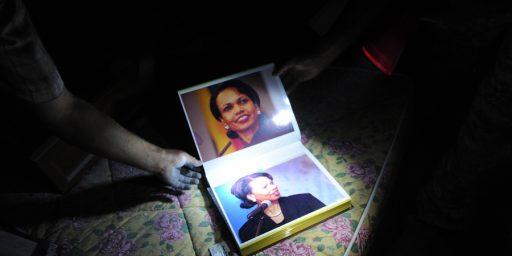 Gadhafi Kept Photo Album Full Of Pictures Of Condi Rice