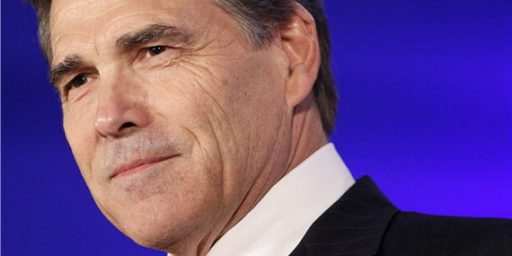 Rick Perry Warns Against Military Adventurism