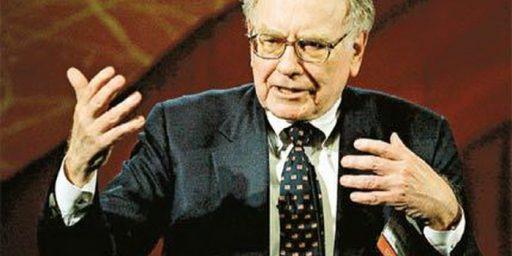"""Warren Buffett's """"Super Rich"""" Tax Would Cover Seven Days Of Federal Spending"""