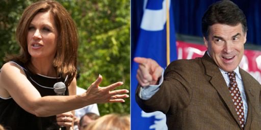 Perry Widens Lead, Bachmann Plummets, In New Republican Poll