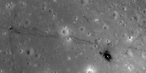 New Moon Photos Show Remnants Of Apollo Landings
