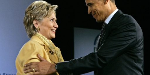"Hillary Clinton: ""Below Zero"" Chance That She'll Be Challenging Obama In 2012"