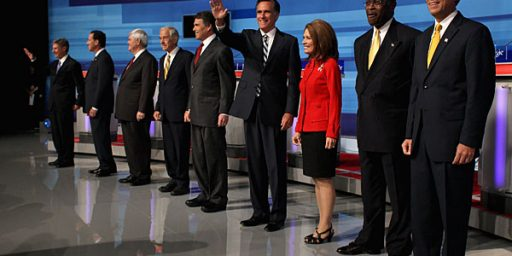 Once Again, Romney Wins And Perry Falters In GOP Debate