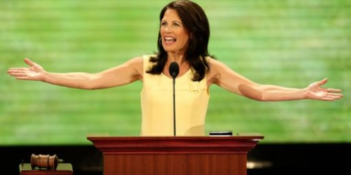 Michele Bachman's Connection To The Company That Makes Gardasil's Only Competitor