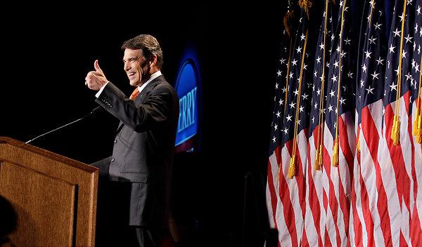 Rick Perry at Podium1