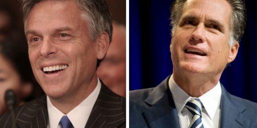 "Huntsman On Romney: He's A ""Perfectly Lubricated Weather Vane"""