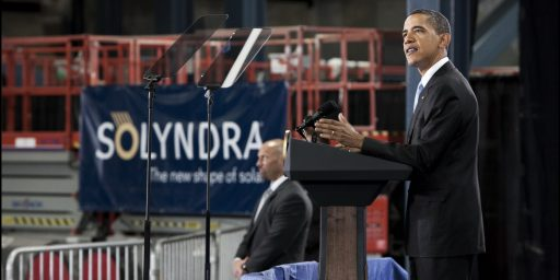 "Solar Energy Firm's Bankruptcy Calls Obama's ""Green Jobs"" Program Into Question"