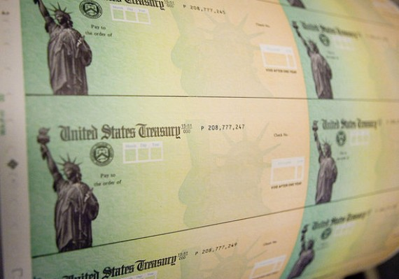 ... who don't pay income tax receive one of these stimulus checks