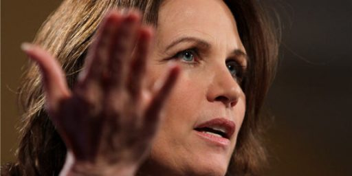 """Michele Bachmann In 2010: Social Security Is """"A Tremendous Fraud"""""""