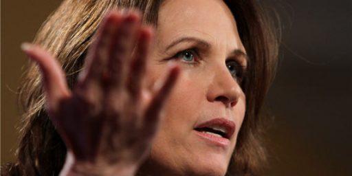 Michele Bachmann Blames Obama For Arab Spring