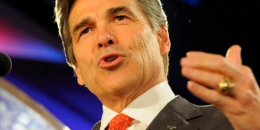 Another Poll Puts Perry At The Top In National Polling