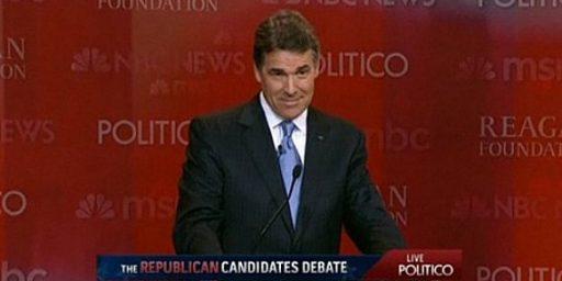 Rick Perry To Skip Future Debates?