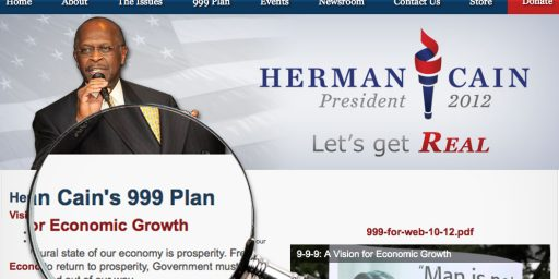 Under Herman Cain's Tax Plan, Your Taxes Will Increase