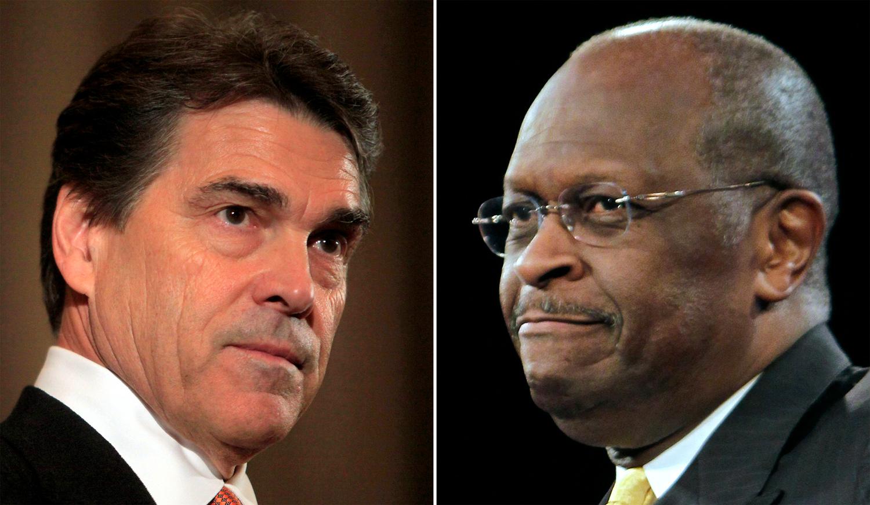 Rick Perry Herman Cain