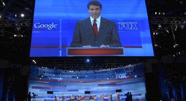 Rick Perry at Fox Google Debate