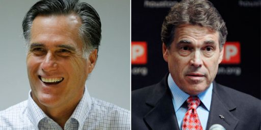 Romney Criticizes Perry's Idea To Send Troops To Mexico
