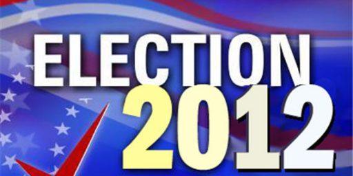 2012 General Election Debate Schedule Set