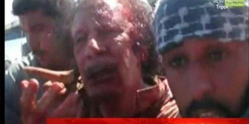 Gaddafi's Dead. Now What?