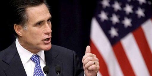 Romney's Realism Redux
