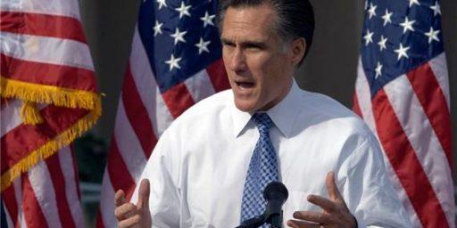 Mitt Romney Raises $24,000,000 In Final Quarter Of 2011