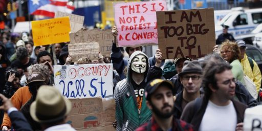 Occupy Wall Street: What It Isn't