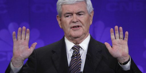 Dowd on Gingrich