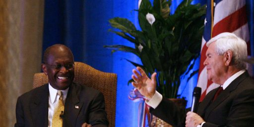 Another Poll Shows Cain Falling, Newt Rising