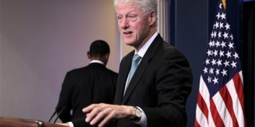 Something Tells Me Bill Clinton Wishes He Could Be President Again