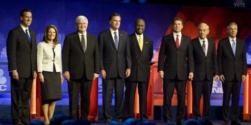 Cain, Paul, Gingrich, And Romney In Four-Way Tie In Iowa