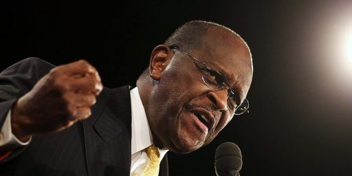 Herman Cain Gets Secret Service Protection