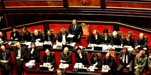 Austerity Package Passes Italian Senate; Stage Set for New PM