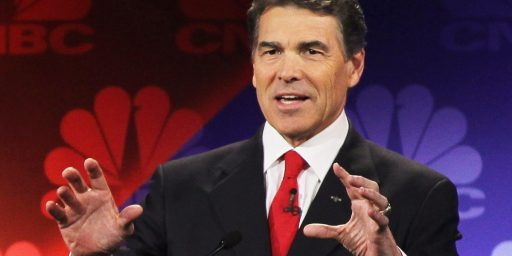 For Some Reason, Rick Perry Thinks He Might Run For President Again