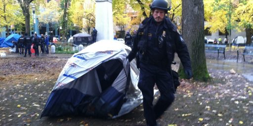 Occupy Portland Appears To Be Over