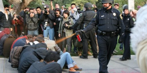 UC Davis Police Chief On Administrative Leave Over Pepper Spray Incident