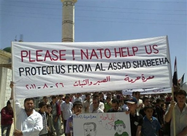Syria NATO Please Help Us