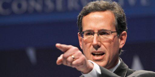 Santorum Surging?