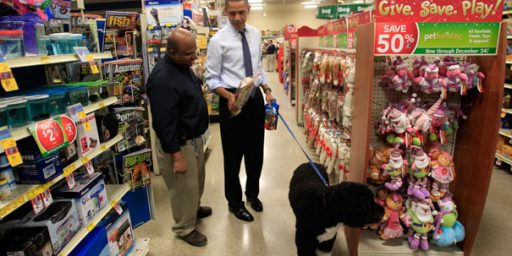 Apparently, Conservatives Don't Like Obama's Dog Either