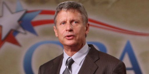 Gary Johnson Leaves GOP, Declares For Libertarian Party Nomination