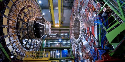 "Large Hadron Collider Closing In On The ""God Particle"""
