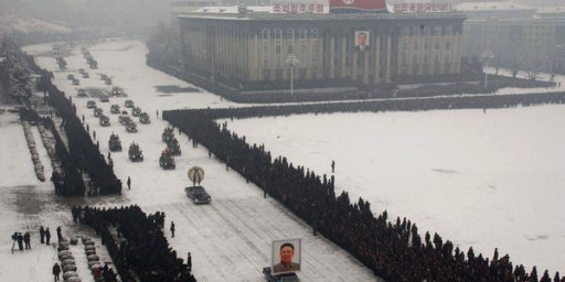 Photo From Kim Jong-il Funeral Was Photoshopped